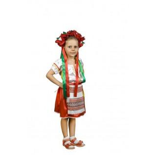 Украинка, национальный костюм