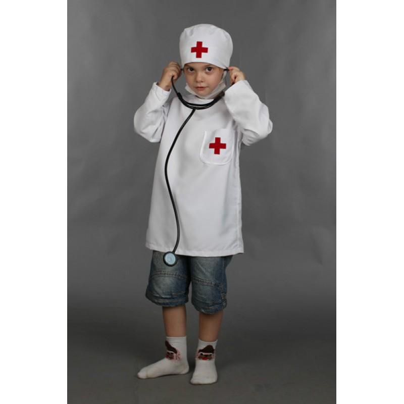 Костюм доктора ребенку своими руками